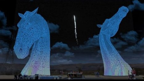 Work starts on Kelpies sculpture | Culture Scotland | Scoop.it