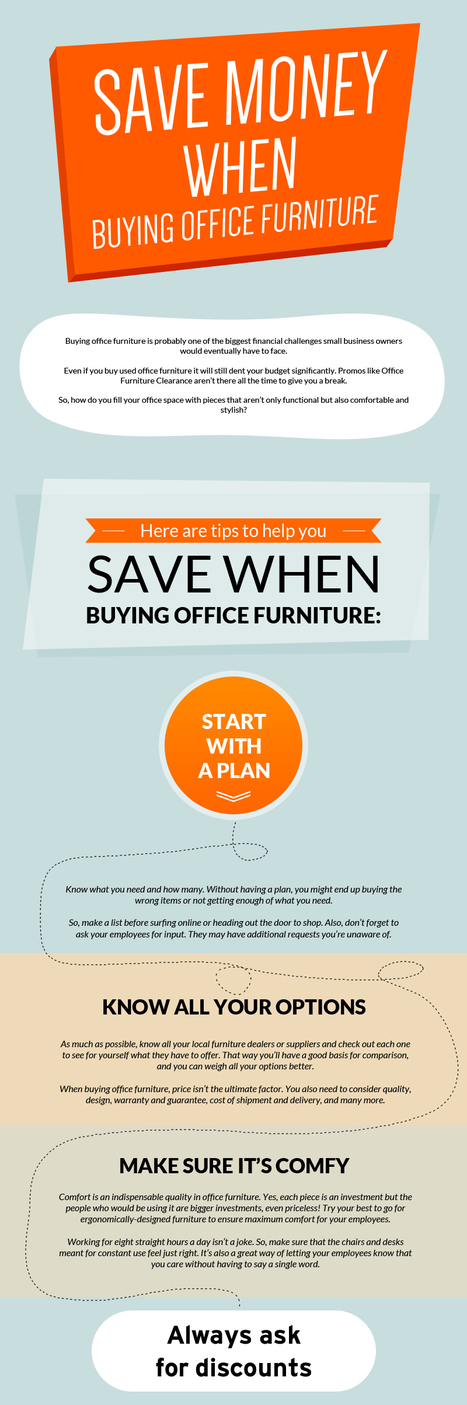 Save Money When Buying Office Furniture | Office Furniture UK | Scoop.it