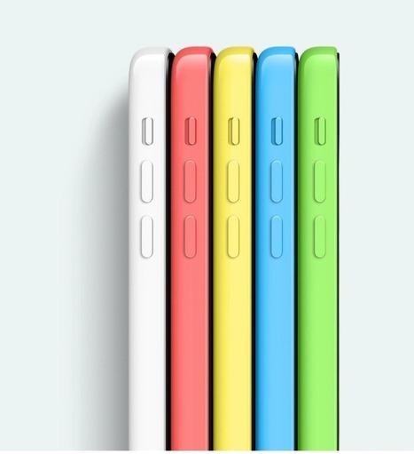 صور جميع الوان iPhone 5c اثناء عمله بالـ IOS7 - نقطة تقّنية | Blogger Archive | Scoop.it