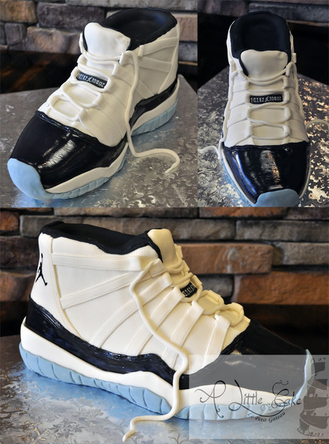 Sculpted Sneaker Birthday Cake or Grooms Cake | Custom Cakes for You | Scoop.it