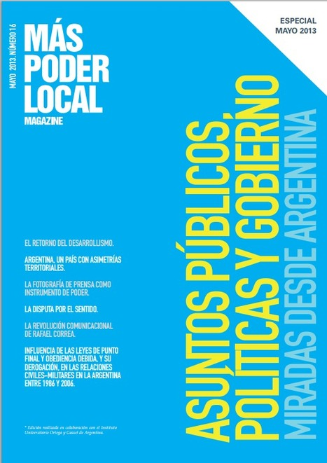 MAS PODER LOCAL Magazine. Revista de comunicación política e institucional | Perros | Scoop.it