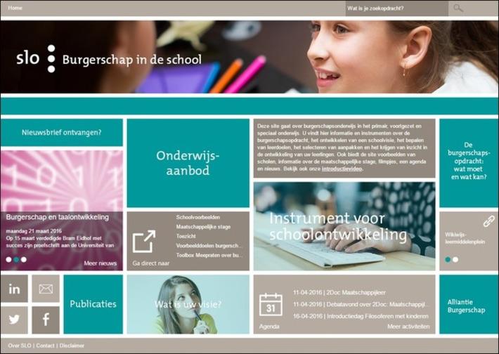 Edu-Curator: Website 'Burgerschap in de school' (SLO) biedt handvatten voor burgerschapsonderwijs | Edu-Curator | Scoop.it