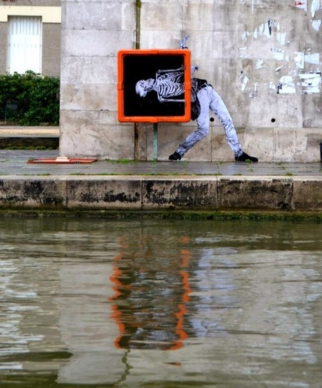 Levalet New Street Piece - Paris, France | World of Street & Outdoor Arts | Scoop.it