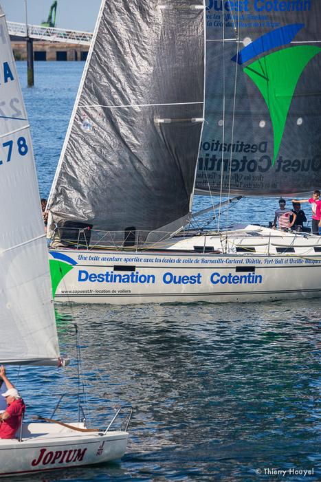 A bord de Destination Ouest Cotentin pour la dernière manche ! - Tour des Ports de la Manche | Marc Lepesqueux | Scoop.it