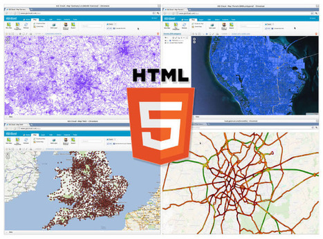 HTML5 Canvas: An Open Standard for High Performing GIS Map Visualization in Web Browsers | cartography | Scoop.it