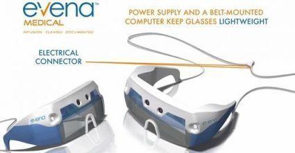 Eyes-On, des lunettes qui voient les veines à travers la peau | GB1 | Scoop.it