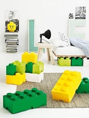 Giant Glossy Lego® Storage Blocks In Nine Fun Colors. | All Geeks | Scoop.it