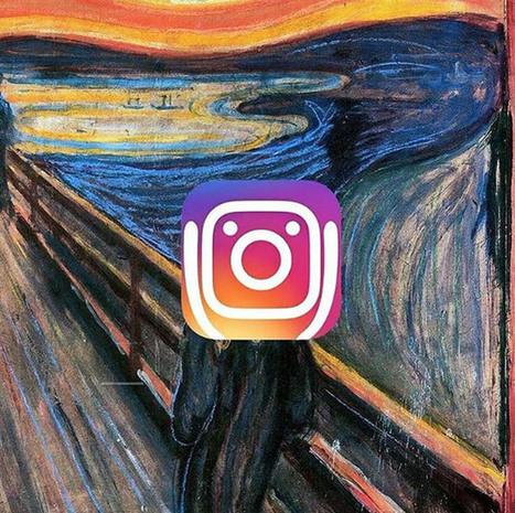 Quand les internautes taclent le nouveau logo d'Instagram | Made In Retail : Mode & Médias sociaux | Scoop.it