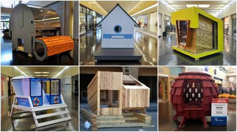 Casas de muñecas para caridad: cómo el concurso de diseño de un arquitecto recauda dinero para niños necesitados | retail and design | Scoop.it