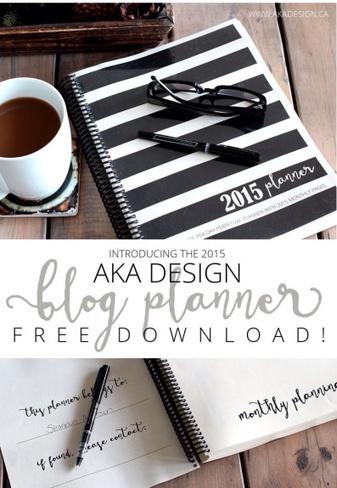 Blog Planner 2015 | MOnica e lo scrapbooking | Scoop.it