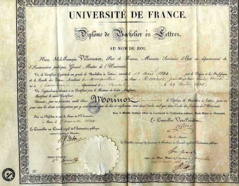 Diplômes du baccalauréat | Facebook | GenealoNet | Scoop.it