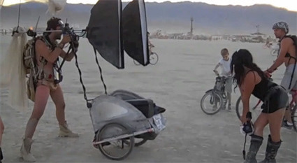 How to Make a Mobile Portrait Studio for Events: Burning Man | DSLR video and Photography | Scoop.it