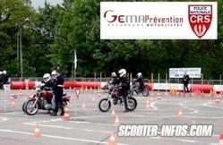 Initiation au deux-roues motorisé Gema/CRS : les rendez-vous 2013 | actualités | Scooter Infos | Scooter's news | Scoop.it