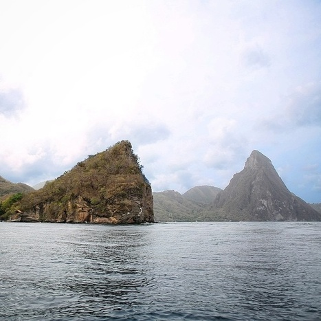 #MountainMonday Feature: A Different View Of the Pitons | Saint Lucia Tourism | Scoop.it