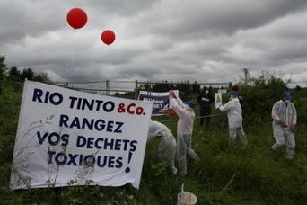 Déchets toxiques : un site contaminé cadenassé par des militants écologistes -  Hagenthal-le-bas (FR-68) | Toxique, soyons vigilant ! | Scoop.it