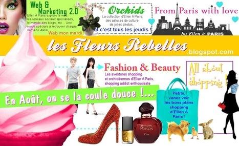 Les Fleurs Rebelles l Mode, Beauté, Bons plans shopping ... | fashion blogosphere | Scoop.it
