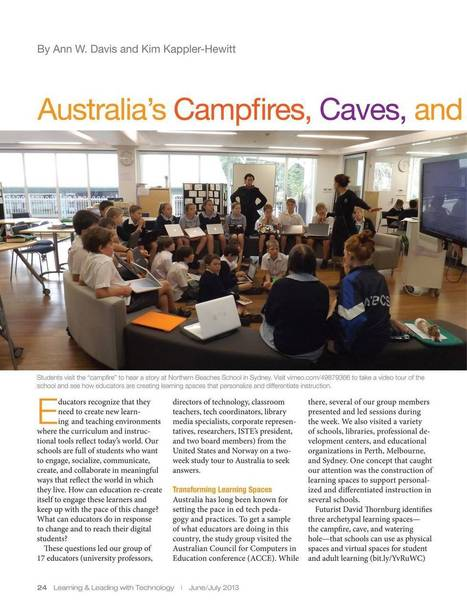 Learning & Leading Through Technology - June/July 2013 - Page 24 | School Library Learning Commons | Scoop.it