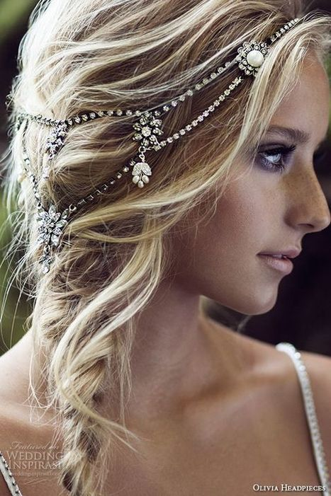 Top off Your Bridal Look With One of These Stunning Crystal Hair Accessories - Team Wedding Blog | Wedding Inspiration | Scoop.it