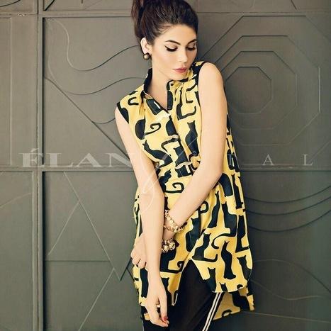 Elan Stylish Summer Wear Collection 2014 For Women   joshpk   Scoop.it