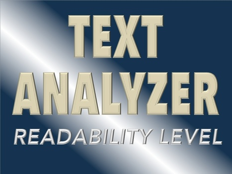 ATOS Readability - ATOS for Text | Advice for Writers | Scoop.it