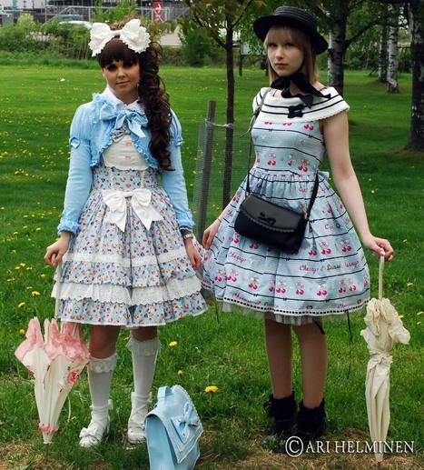 Lolita fashion, Helsinki.} | Los Angeles People | Midnight Movies | Scoop.it