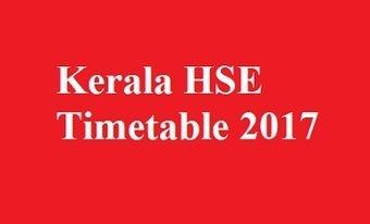 Kerala HSE Timetable 2017 | Mintbeatz | Scoop.it