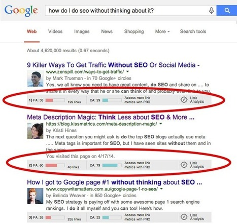 How To Do SEO Without Even Thinking About It | Social Media & Digital Marketing | Scoop.it