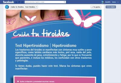 Facebook y el diagnóstico de enfermedadestiroideas | Consultasalud | Scoop.it