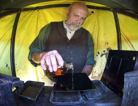 Photographer winding back the hands of time | wet plate collodion | Scoop.it
