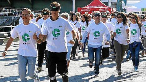 La villa se solidariza con la campaña para concienciar sobre la discapacidad visual. | Salud Visual 2.0 | Scoop.it