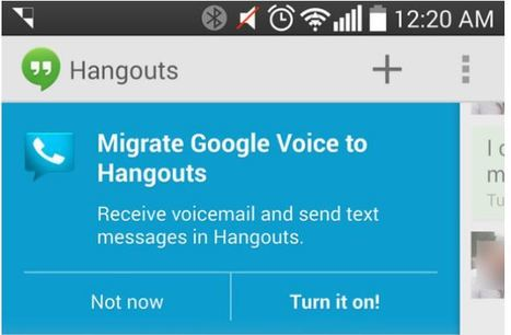 Google Voice integration starts appearing in Google Hangouts | eSalud Social Media | Scoop.it