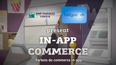 C'est pas mon idée !: BNPP Fortis lance son porte-monnaie mobile | Veille et Prospective | Scoop.it