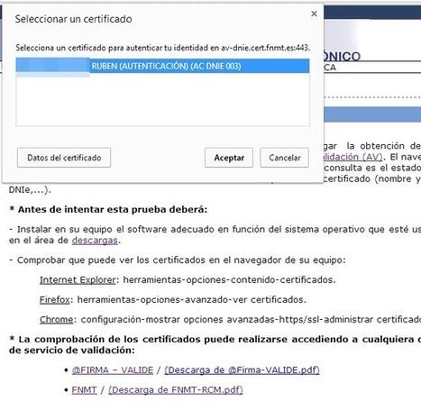 Cómo activar los certificados del DNI electrónico (DNI-e) | I didn't know it was impossible.. and I did it :-) - No sabia que era imposible.. y lo hice :-) | Scoop.it