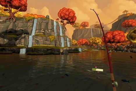 This colorful fishing game is a perfect entry to virtual reality | Augmented Reality & VR Tools and News | Scoop.it