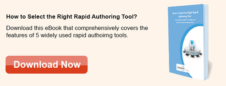 How To Select The Right Rapid Authoring Tool? – Free eBook | Authoring Tools | Scoop.it