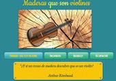 ¿Y si un trozo de madera descubre que es un violín? ~ #maderasqsonv | #TuitOrienta | Scoop.it