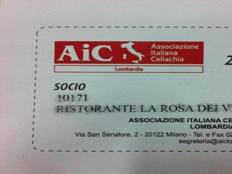 Twitter / dei_rosa20: A I C ... Associazione Italiana ... | Gluten-free-Content | Scoop.it
