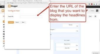 How to Add RSS Feeds and A Blog Roll to Your Blogger Blog | Educational Use of Social Media | Scoop.it
