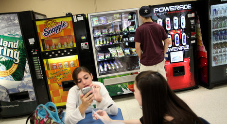 Tough Sell for Healthy Fare in School Vending Machines | Education and Library News | Scoop.it