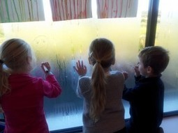 Whiteboardstiften op een raam   Kleuters   Scoop.it