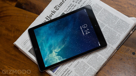 iPad Air First Impressions: Big Never Felt So Small | Flash Technology News | Scoop.it