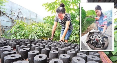 DTI boosts charcoal briquette production in La Union village | mb.com.ph | Philippine News | Global Recycling Movement | Scoop.it