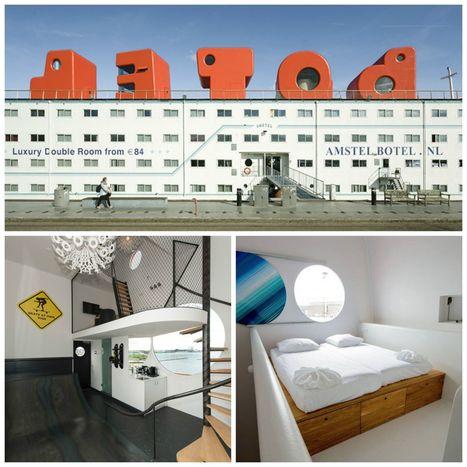Hébergements flottants et insolites - Veilletourisme.ca | HOTELS & TOURISME | Scoop.it