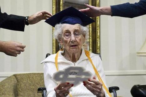 Michigan high school awards diploma to 97-year-old woman who dropped out to help family | Senior Care | Scoop.it