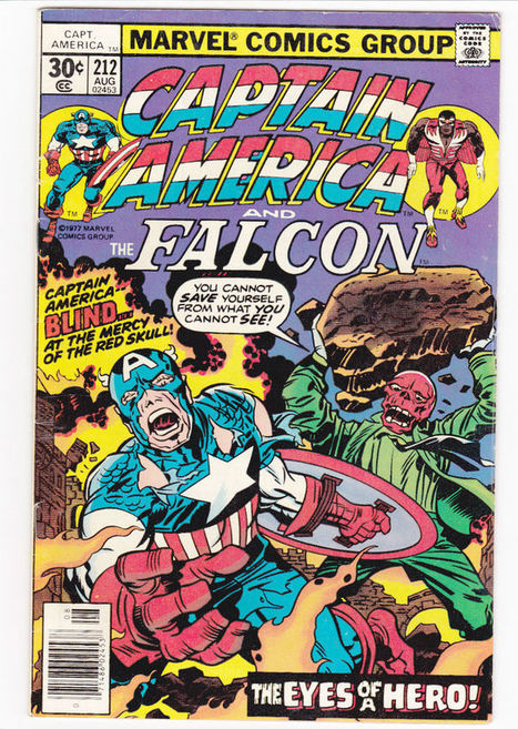 Marvel Comics Captain America #212 Aug. 1977 Story and Art by Jack Kirby | The Great Depression Info or The Golden Age of Comics | Scoop.it