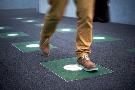 Pavegen, Floor Tiles That Generate Electricity from Footsteps | pour thp | Scoop.it