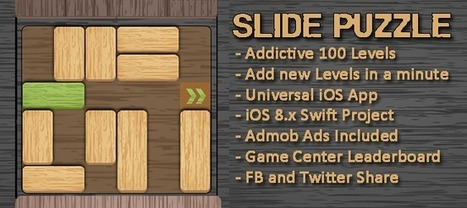 Buy Slide Puzzle Addictive Universal Game Full Games For iOS | Chupamobile.com | ios source code | Scoop.it