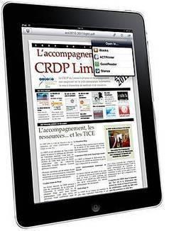 L'École numérique»Ipads en Corrèze, des outils pour des usages variés | NUMÉRIQUE TIC TICE TUICE | Scoop.it
