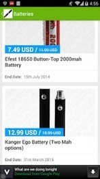 Vape Deals - Applications Android sur GooglePlay | Best android apps on the market | Scoop.it