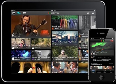 Showyou, the Flipboard-Like Video App, Adds YouTube, Vimeo, Tumblr Integration | Innovative mobile services | Scoop.it